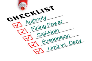 Amendments Checklist
