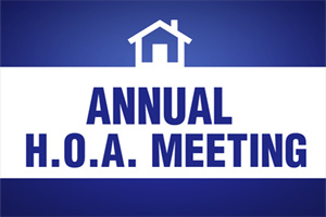 HOA Annual Meeting
